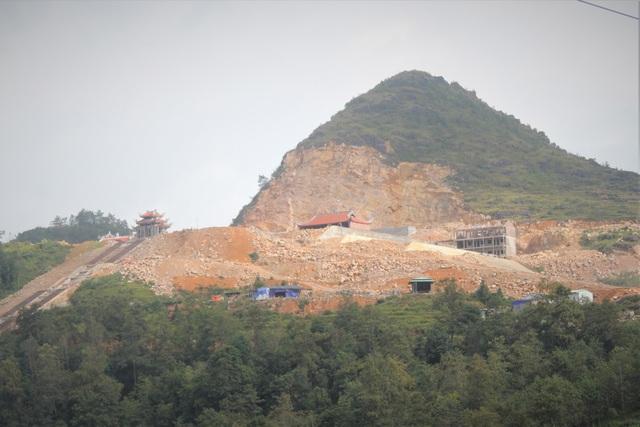 Cận cảnh khu sinh thái tâm linh trái quy hoạch gần Cột cờ Lũng Cú - 1