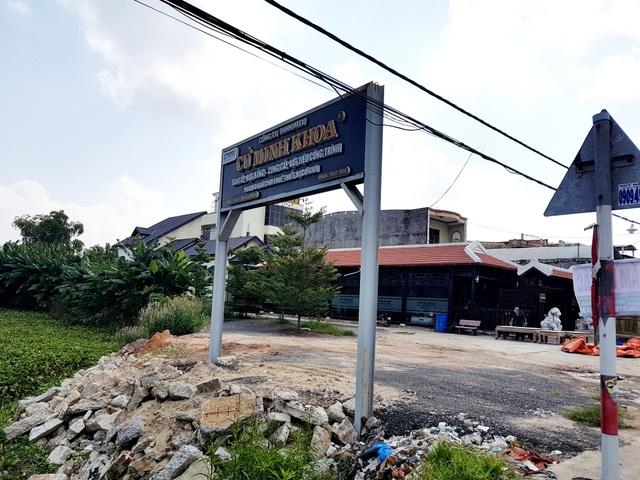 Chủ một doanh nghiệp ở Quảng Nam lấn đất công
