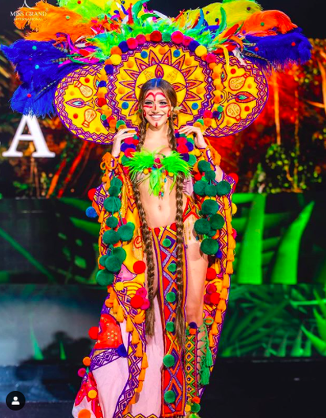 Nhan sắc ngọt ngào của mỹ nhân 19 tuổi vừa đăng quang Hoa hậu Hoà bình quốc tế 2019 - 3