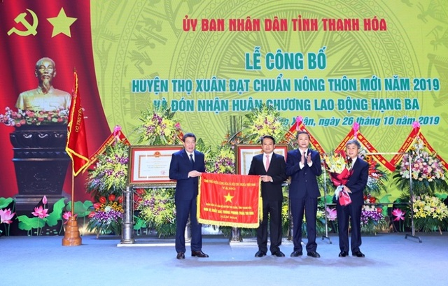 Huyện thứ 4 của Thanh Hóa được Thủ tướng công nhận đạt chuẩn nông thôn mới - 4
