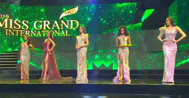 Tường thuật trực tiếp chung kết Hoa hậu hoà bình quốc tế 2019: Kiều Loan dừng chân ở top 10 - 3