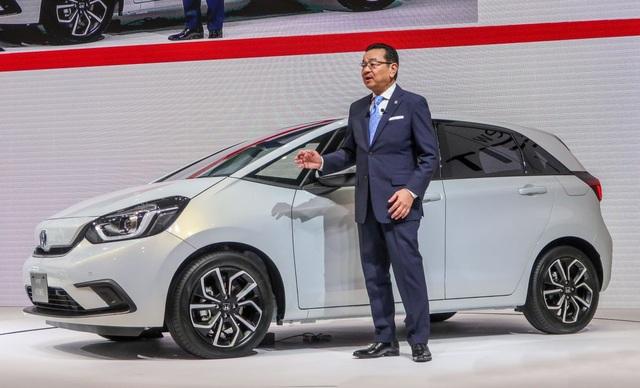 Honda hé lộ mẫu xe hạng B - Jazz thế hệ thứ ba - 3