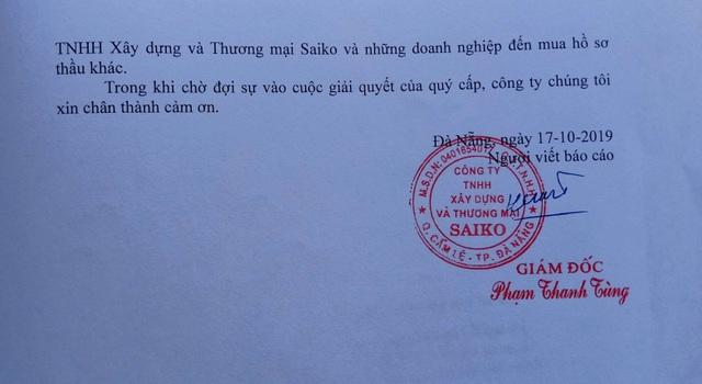 Doanh nghiệp tố BQLDA bảo kê hồ sơ mời thầu