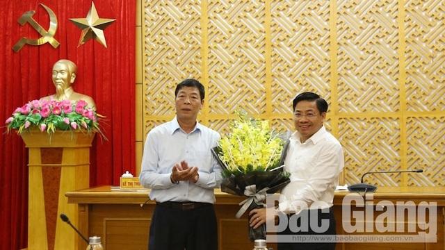 Ông Dương Văn Thái được bầu làm Phó Bí thư Tỉnh uỷ Bắc Giang - 1
