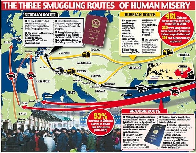 """Vụ 39 người chết ở Anh: Hé lộ sự thật về đế chế """"buôn người"""" hàng chục triệu USD - 2"""