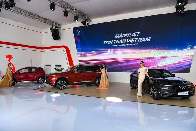 Giải mã 'hiện tượng' VinFast tại Vietnam Motor Show 2019 - 2
