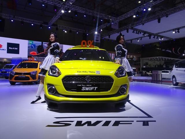 Chiêm ngưỡng vẻ thể thao của Suzuki Swift tại Triển lãm ô tô Việt Nam 2019 - 3