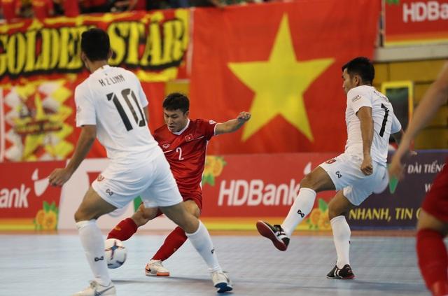 Những khoảnh khắc đội tuyển futsal Việt Nam giành vé dự giải châu Á  - 1