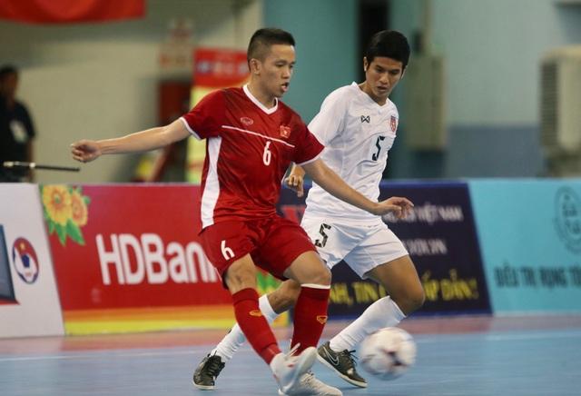 Thắng Myanmar 7-3, đội tuyển futsal Việt Nam giành vé dự giải châu Á - 5