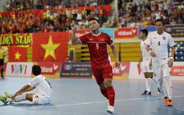 Những khoảnh khắc đội tuyển futsal Việt Nam giành vé dự giải châu Á  - 3