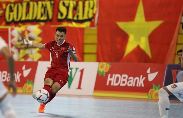 Những khoảnh khắc đội tuyển futsal Việt Nam giành vé dự giải châu Á  - 5
