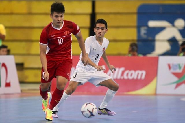 Thắng Myanmar 7-3, đội tuyển futsal Việt Nam giành vé dự giải châu Á - 1