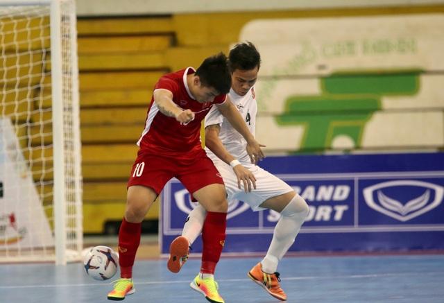 Thắng Myanmar 7-3, đội tuyển futsal Việt Nam giành vé dự giải châu Á - 4