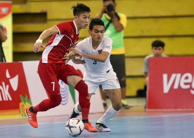 Thắng Myanmar 7-3, đội tuyển futsal Việt Nam giành vé dự giải châu Á - 6