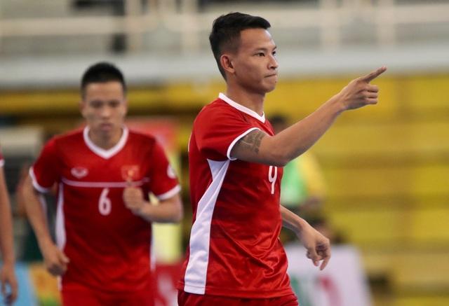 Thắng Myanmar 7-3, đội tuyển futsal Việt Nam giành vé dự giải châu Á - 2