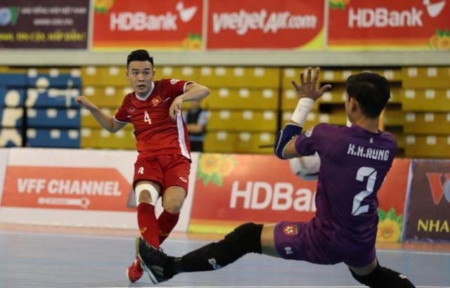 Những khoảnh khắc đội tuyển futsal Việt Nam giành vé dự giải châu Á  - 2