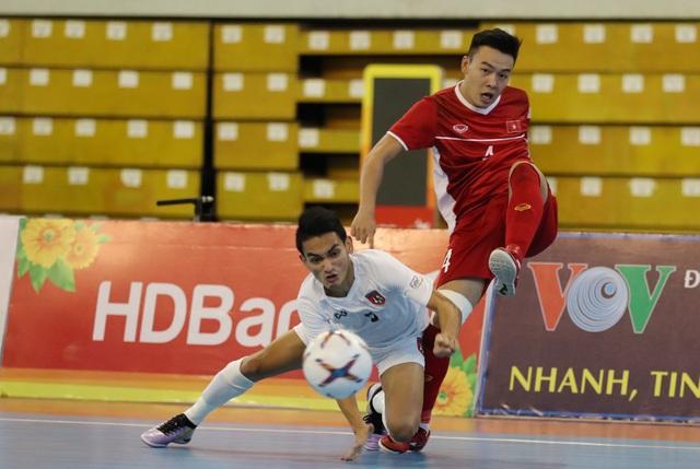 Những khoảnh khắc đội tuyển futsal Việt Nam giành vé dự giải châu Á  - 4
