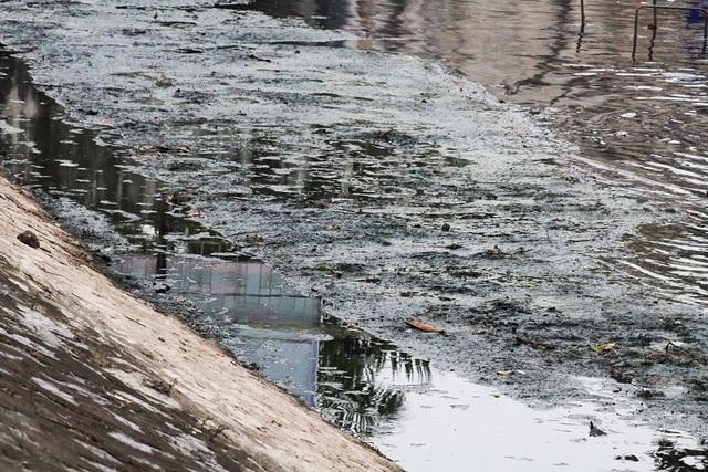 Mỗi ngày các dòng sông Hà Nội nhận 600.000 m3 nước thải - 2