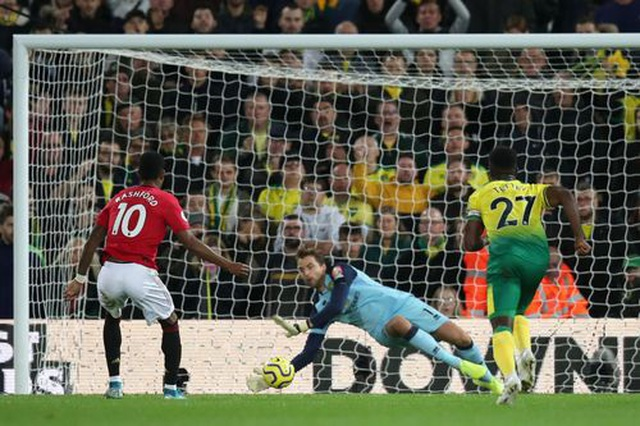 Norwich 1-3 Man Utd: Rashford, Martial cùng đá hỏng 11m - 2