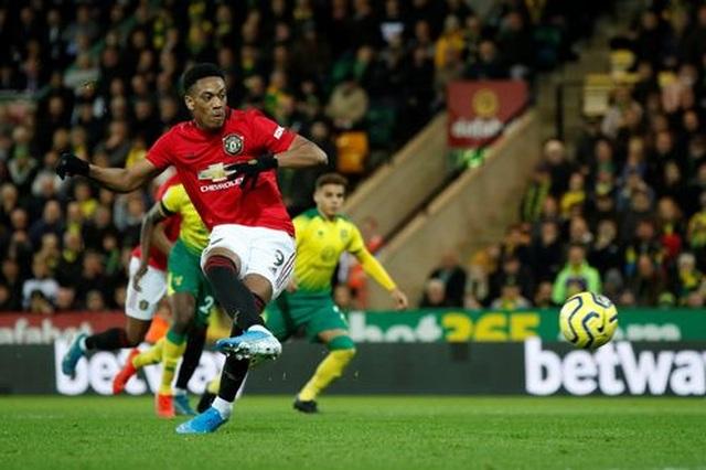 Norwich 1-3 Man Utd: Rashford, Martial cùng đá hỏng 11m - 4
