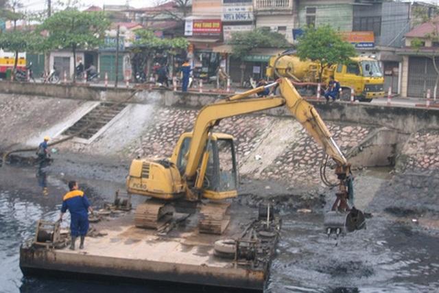 Mỗi ngày các dòng sông Hà Nội nhận 600.000 m3 nước thải - 3