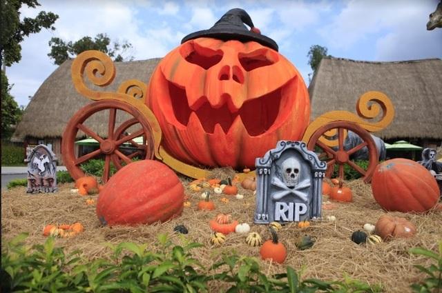 """Choáng với """"siêu bảo tàng"""" bí ngô của Vinpearl trong mùa Halloween - 11"""