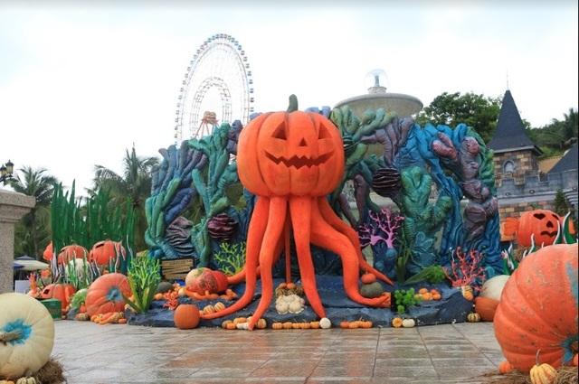 """Choáng với """"siêu bảo tàng"""" bí ngô của Vinpearl trong mùa Halloween - 5"""