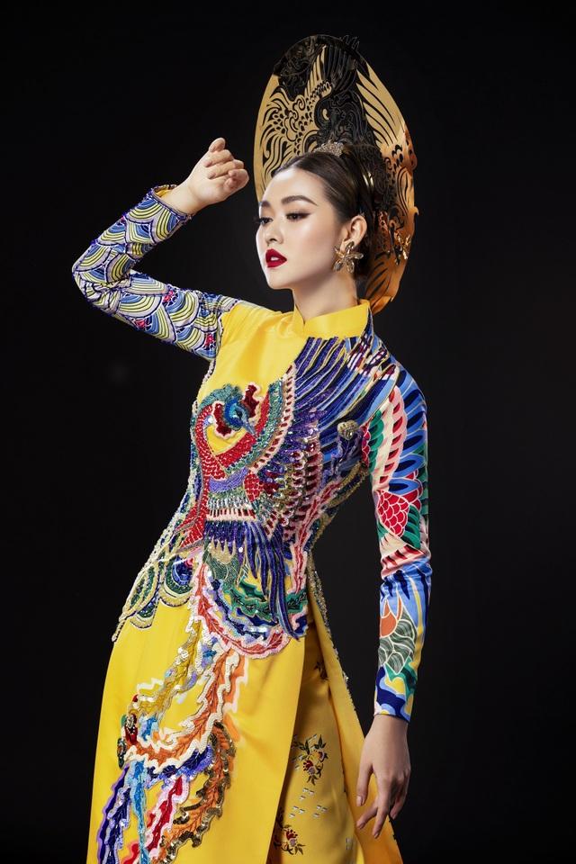 Á hậu Tường San khó chọn trang phục dân tộc khi đi thi quốc tế - 1