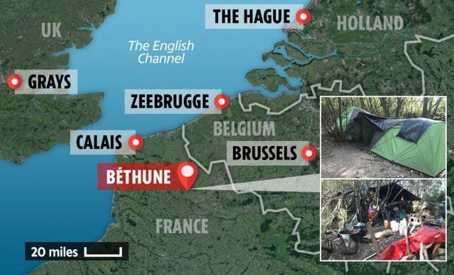 Cuộc sống  trong lều tạm của người Việt ở Pháp chờ sang Anh - 3
