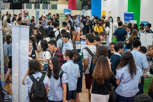 Hơn 150 trường Đại học trên Thế giới tham gia Triển lãm Giáo dục bậc Đại học tại Trường Quốc tế Anh BIS Hà Nội - 1