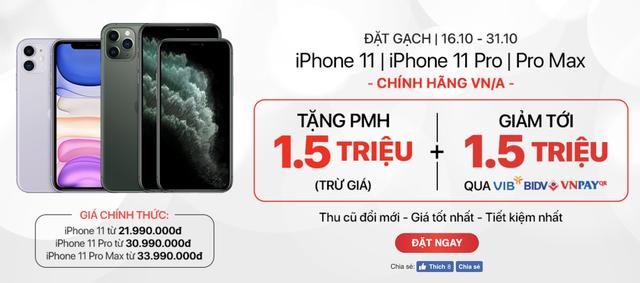 Chưa bán ra, iPhone 11 chính hãng đã giảm cả triệu đồng để hút khách - 1