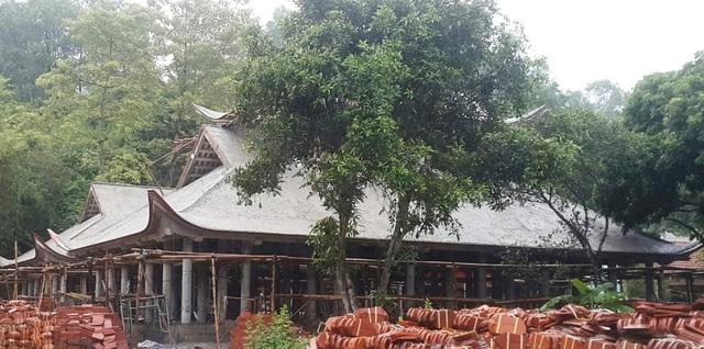Nhiều sai phạm trong quá trình tôn tạo di tích chùa Bạch Tượng tại Thanh Hoá - 1