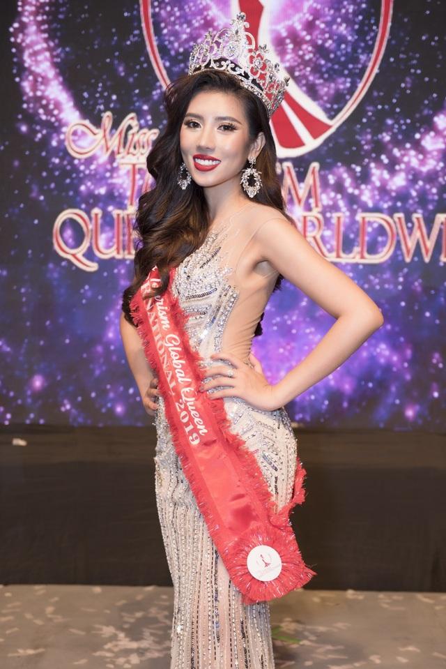 Người đẹp Việt đăng quang Hoa hậu Du lịch Quốc tế - 12