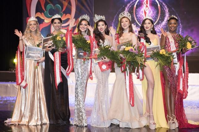 Người đẹp Việt đăng quang Hoa hậu Du lịch Quốc tế - 2