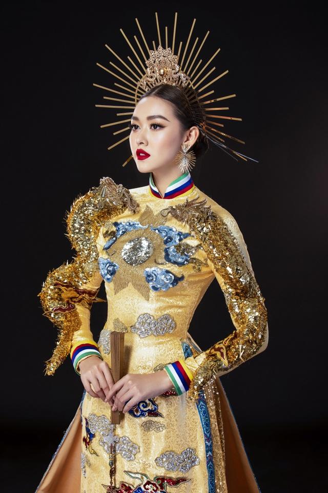 Á hậu Tường San khó chọn trang phục dân tộc khi đi thi quốc tế - 3