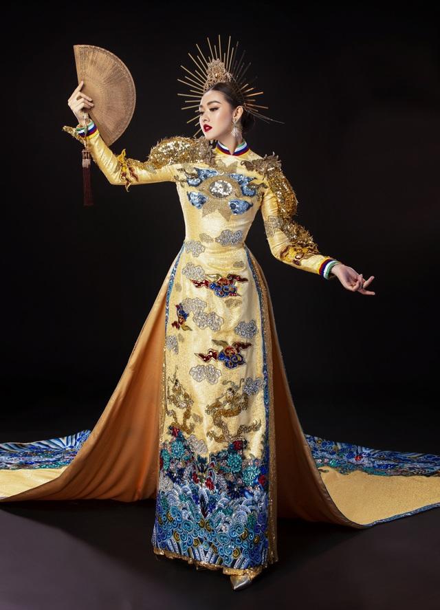 Á hậu Tường San khó chọn trang phục dân tộc khi đi thi quốc tế - 7