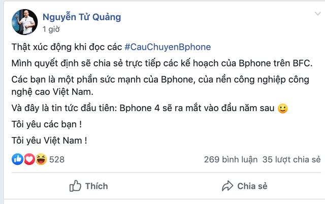 CEO Bkav xác nhận Bphone 4 sẽ ra mắt vào đầu năm 2020 - 1