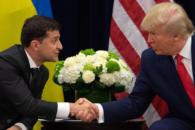Ông Trump gọi nhầm tổng thống Ukraine là tân tổng thống Nga - 1