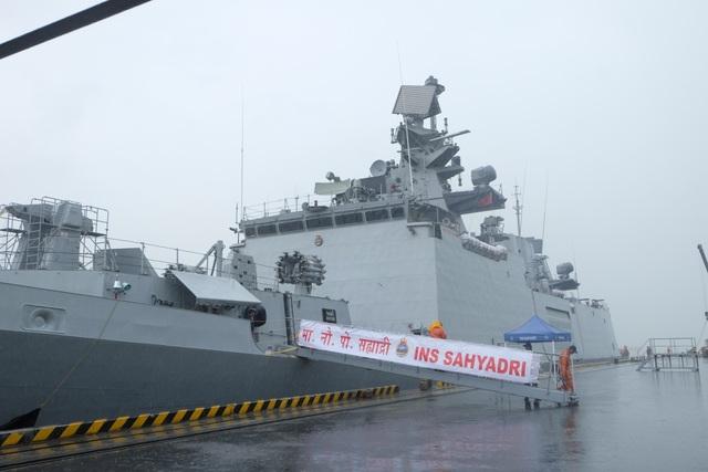 Tàu Hải quân Ấn Độ thăm hữu nghị TP Đà Nẵng - 2