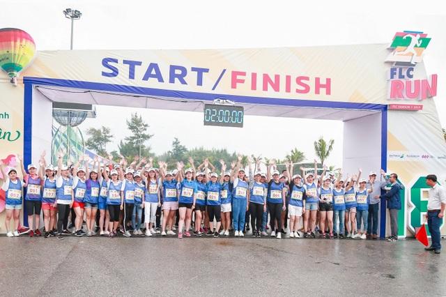 Lan toả tinh thần thể thao không giới hạn từ giải chạy FLC Run 2019 tại phố biển Sầm Sơn - 2