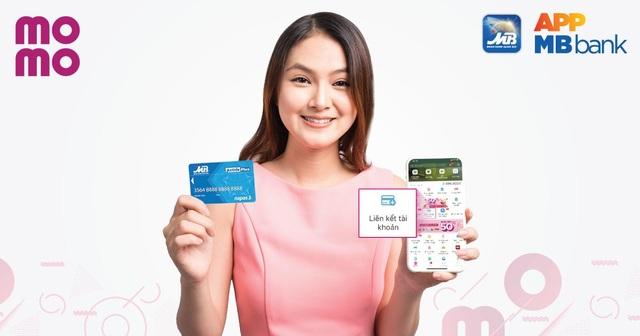 Hoàn tiền mỗi ngày khi liên kết thẻ ATM MBBank với Ví MoMo - 1