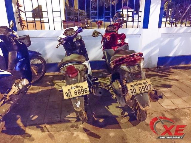 Đẳng cấp dân chơi Lào, xe sang biển siêu đẹp chạy đầy đường - 13