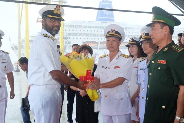 Tàu Hải quân Ấn Độ thăm hữu nghị TP Đà Nẵng - 1