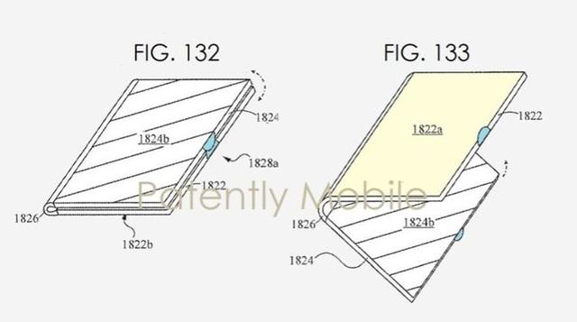 """Bằng sáng chế của Samsung tiết lộ nhiều kiểu dáng điện thoại """"siêu dị"""" - 2"""