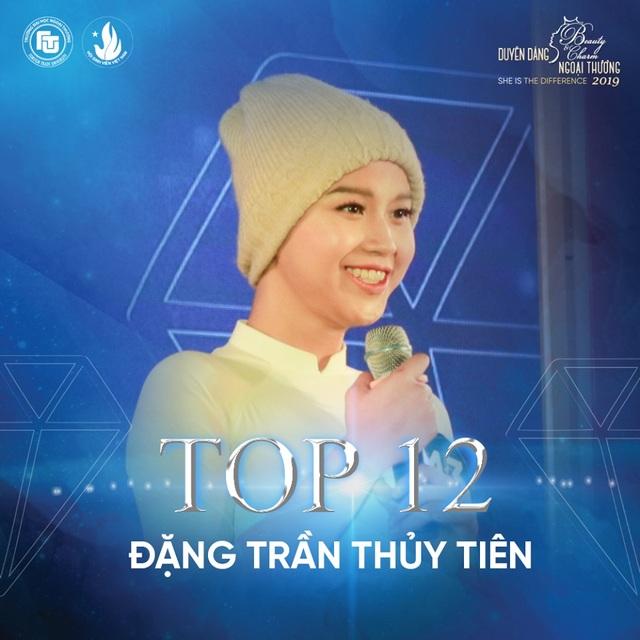 Nữ sinh bị ung thư lọt top 12 Hoa khôi ĐH Ngoại thương Hà Nội - 1