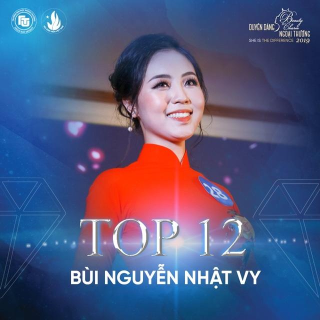 Nữ sinh bị ung thư lọt top 12 Hoa khôi ĐH Ngoại thương Hà Nội - 12