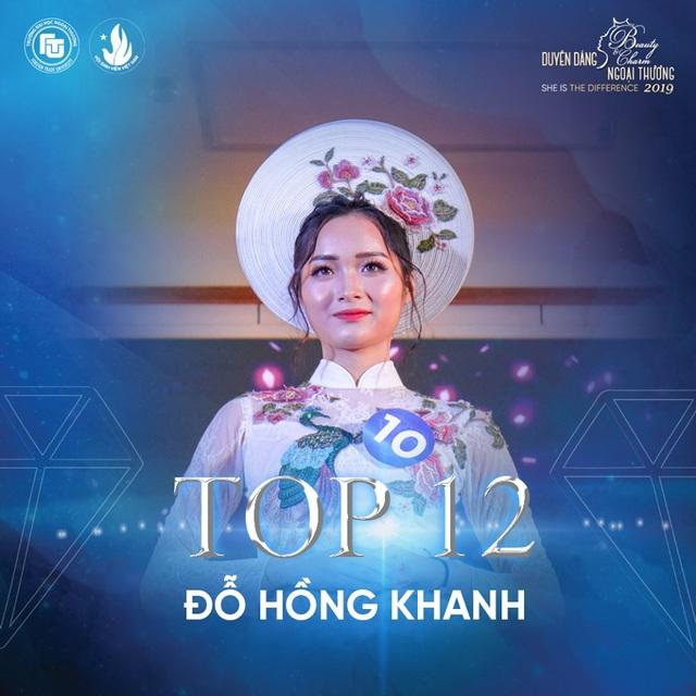 Nữ sinh bị ung thư lọt top 12 Hoa khôi ĐH Ngoại thương Hà Nội - 3