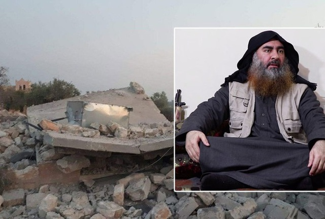 Thi thể trùm khủng bố al-Baghdadi được thuỷ táng giống Osama bin Laden - 1