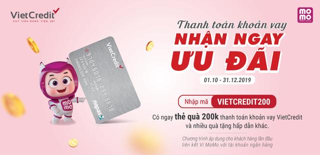 VietCredit tưng bừng tri ân khách hàng với bộ quà thanh toán MoMo và nhiều ưu đãi hấp dẫn - 1