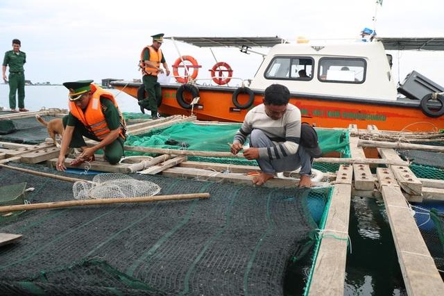 Hình ảnh người dân Ninh Thuận hối hả buộc tàu thuyền, chằng chống nhà cửa - 2